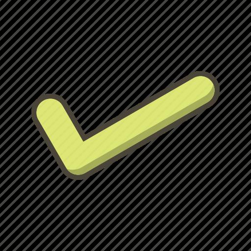 accept, done, tick icon