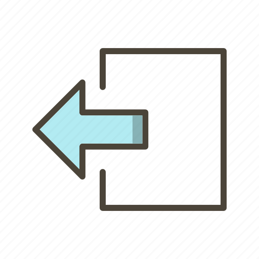 Logout, exit, basic elements icon - Download on Iconfinder