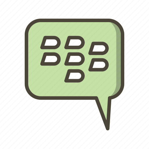 basic elements, bbm, blackberry, conversation, dialogue icon