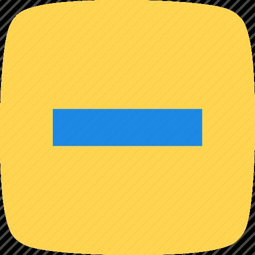 Minimize, minus, basic elements icon - Download on Iconfinder