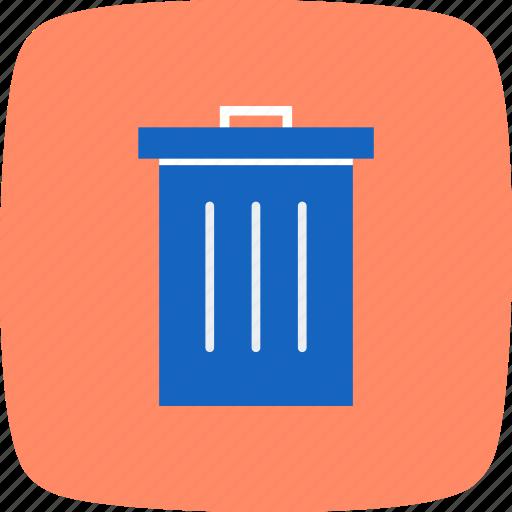 basic elements, delete, recyle bin, remove, trash icon