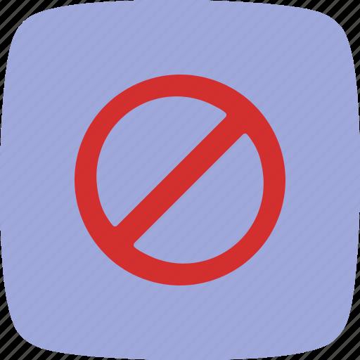 Forbidden, attention, basic elements icon - Download on Iconfinder