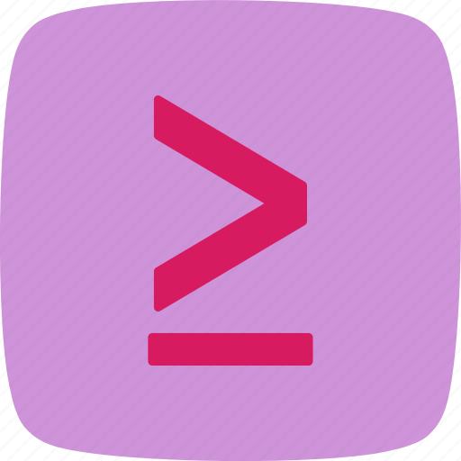 Less, less then, basic elements icon - Download on Iconfinder
