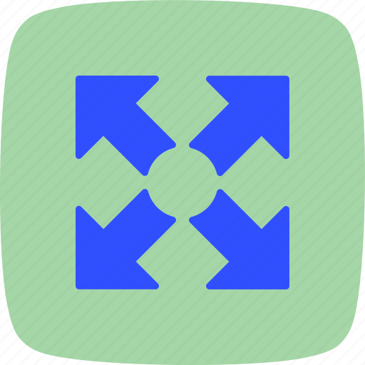 Expand, fullscreen, basic elements icon - Download on Iconfinder