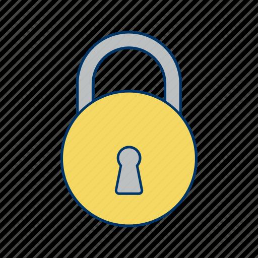 Lock, locked, basic elements icon - Download on Iconfinder