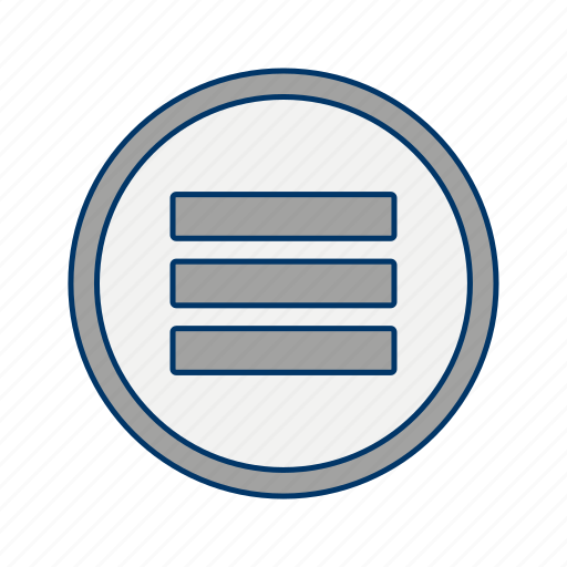 grid, list, options icon