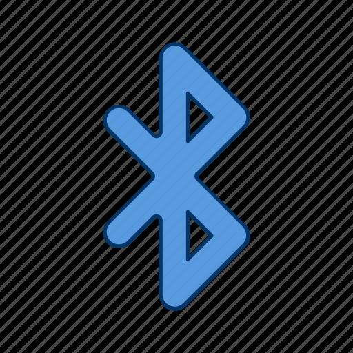 Bluetooth, communication, basic elements icon - Download on Iconfinder