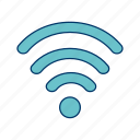 basic elements, internet, signal, wifi, wireless icon