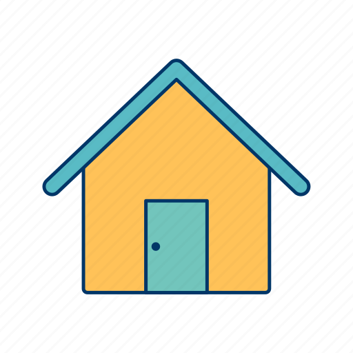 apartment, basic elements, building, home, house icon