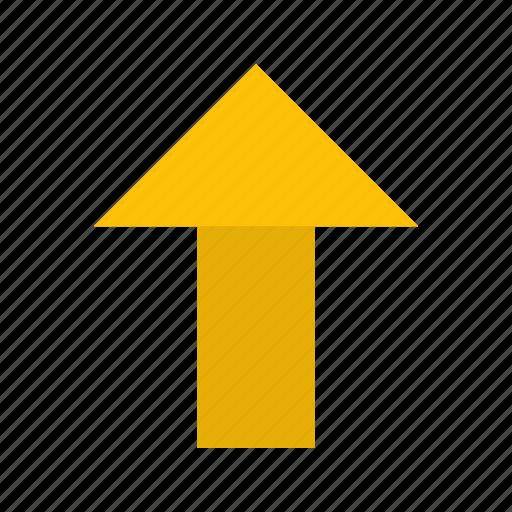 arrow, basic element, direction, navigation, up icon