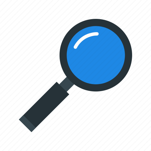 Find, magnifier, basic element icon - Download on Iconfinder