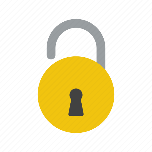 Acess, lock, basic element icon - Download on Iconfinder
