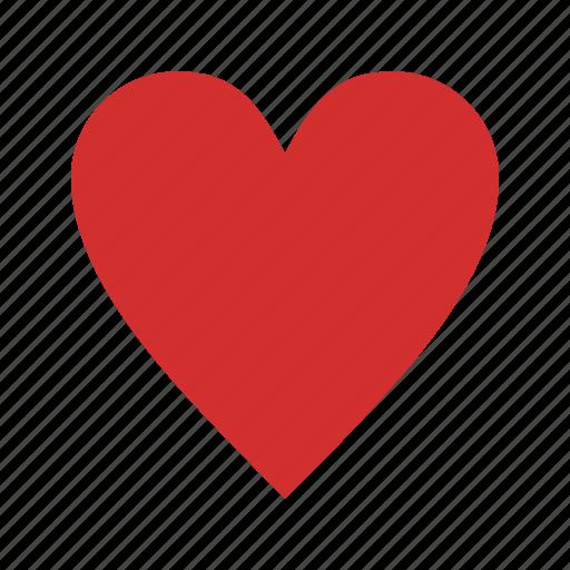basic element, favourite, heart icon