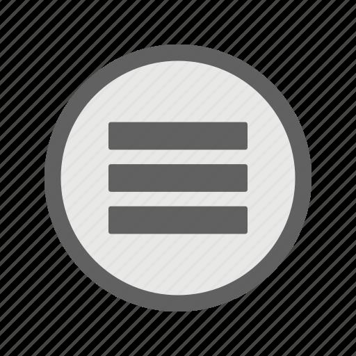 grid, layout, list, menu icon