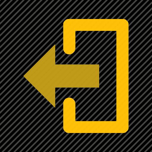 Logout, exit, basic element icon - Download on Iconfinder