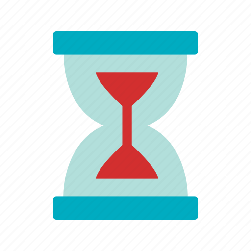 hour glass, loading, timer icon