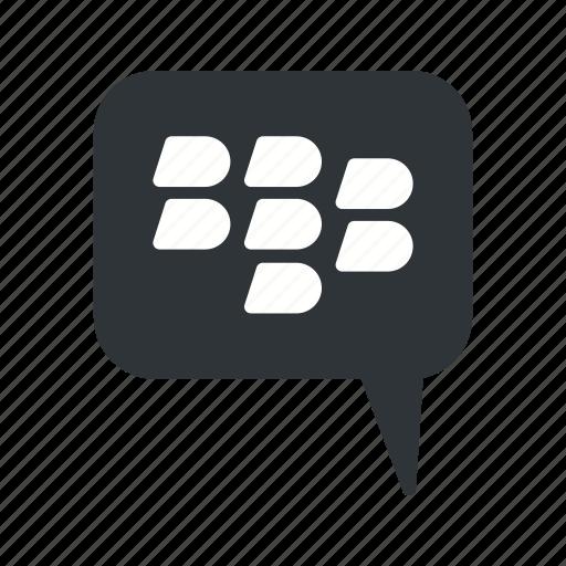 Bbm, blackberry, basic element icon - Download on Iconfinder