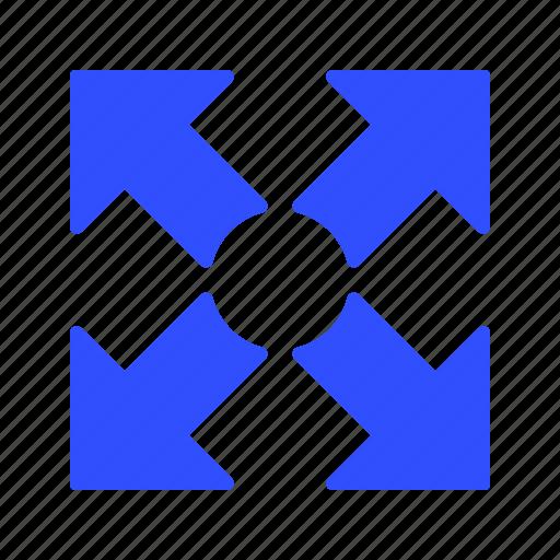 basic element, expand, fullscreen icon