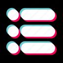 checklist, do, file, list, menu, text icon