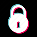 lock, locked, safe, safety, secure, security icon