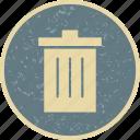 delete, garbage, recyle bin, remove icon