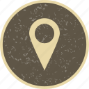 direction, gps, location, pin icon