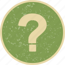 faq, question, question mark icon