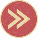 arrows, forward, next, right icon