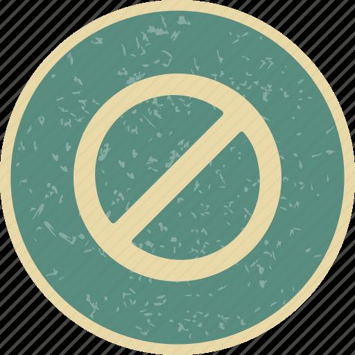 attention, forbidden, stop, warning icon