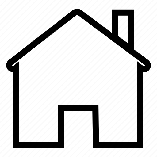 building, home, homepage, house, menu, property icon