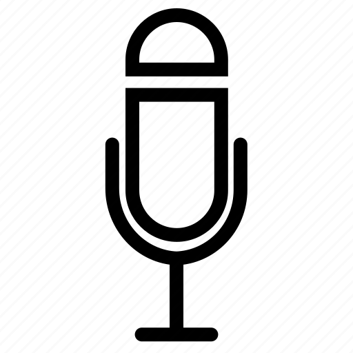 audio, mic, microphone, mike, recorder, voice icon