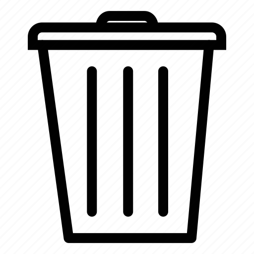 basket, bin, delete, dustbin, garbage, recycle, remove, trash icon