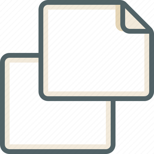 copy, file, landscape icon