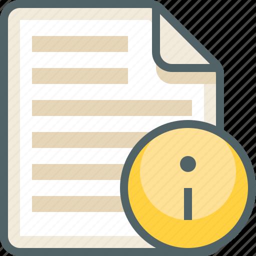 file, info, list, menu icon