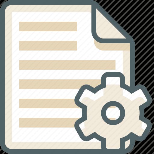 file, list, menu, setting icon