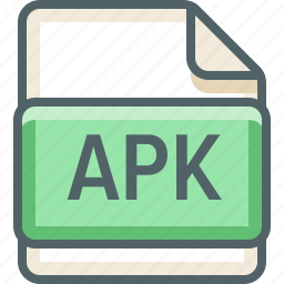 apk, basic, extension, file, format, type icon
