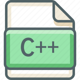 basic, c, c++, extension, file, format, type icon