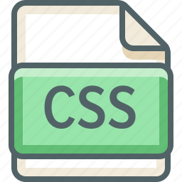 basic, css, extension, file, format, type icon