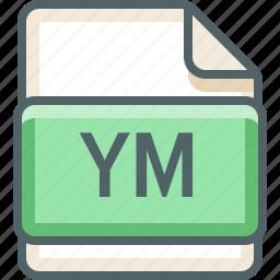 basic, data, extension, file, format, jm, type icon