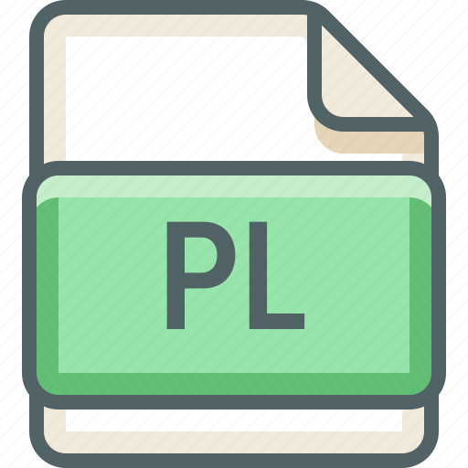 basic, data, extension, file, format, pl, type icon