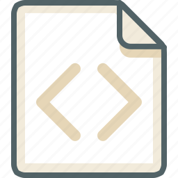 code, extension, file, format, sheet, text, type icon