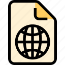 connection, document, file, paper, share icon