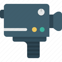 camera, cinema, movie, video icon