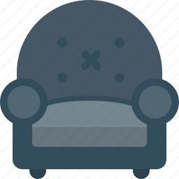 chair, home, relax icon