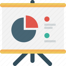 analytics, chart, competitive, diagram, graph, pie, report icon