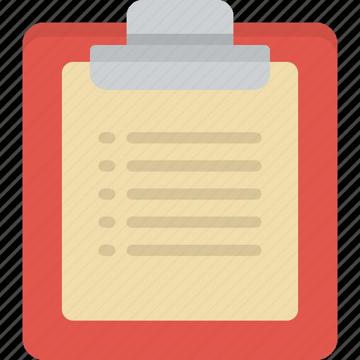 checklist, checkmark, clipboard, list, report, task icon