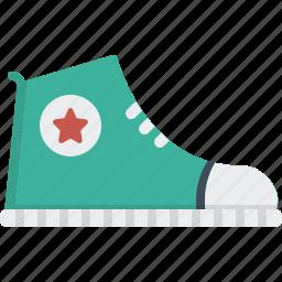 converse, footwear, hipster, shoes, sneaker, wear icon