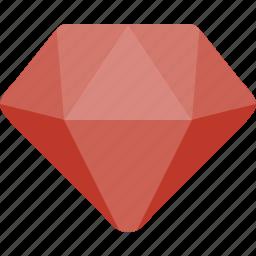 crystal, diamond, jewelry icon
