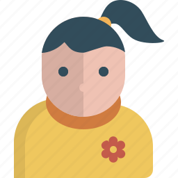 avatar, girl, user, wooman icon