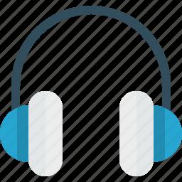 audio, earphone, headphones, music icon